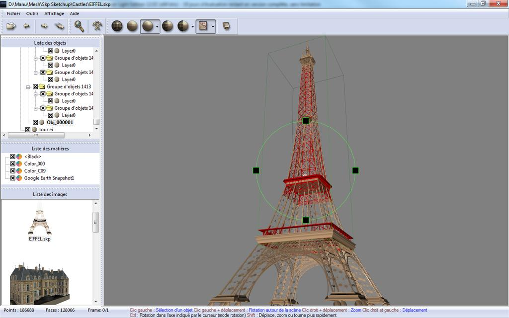 3DBrowser For 3D Users Overview: manage, display, convert