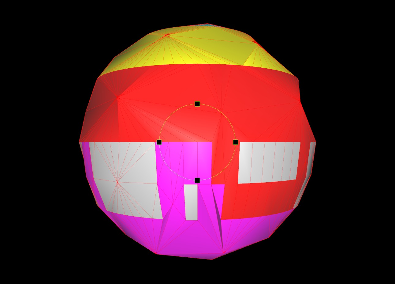 Vertex colors with Polygon Cruncher 9